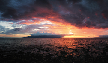 maui sunset beach