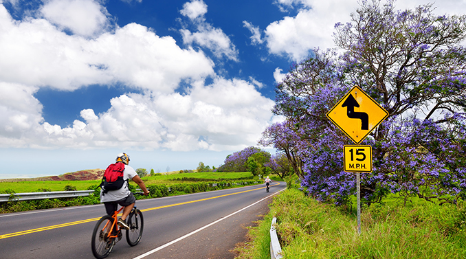bike tours on maui